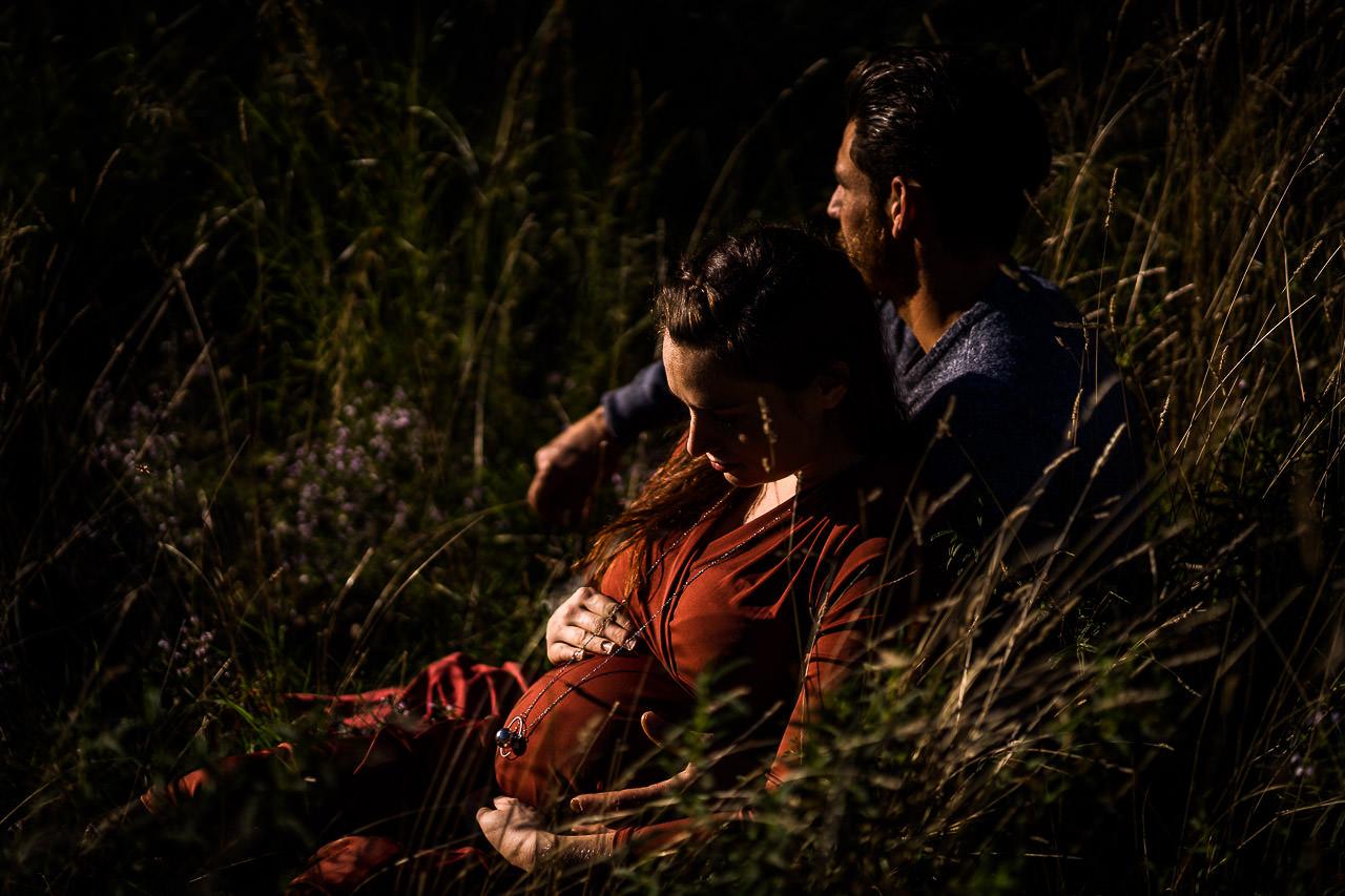 Séance photo grossesse près de Perpignan avec Olivier Bolte