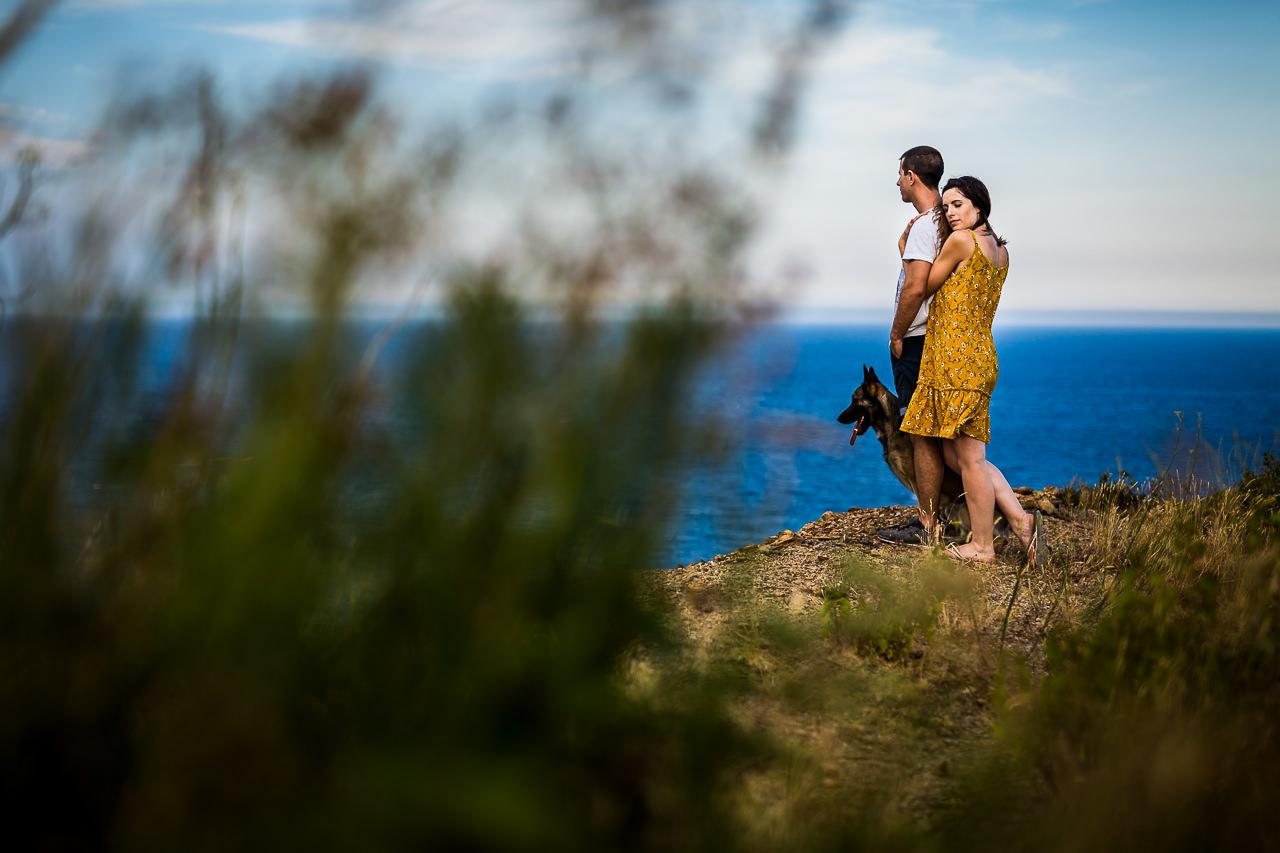 Photo de futurs mariés avant leur mariage près de Perpignan