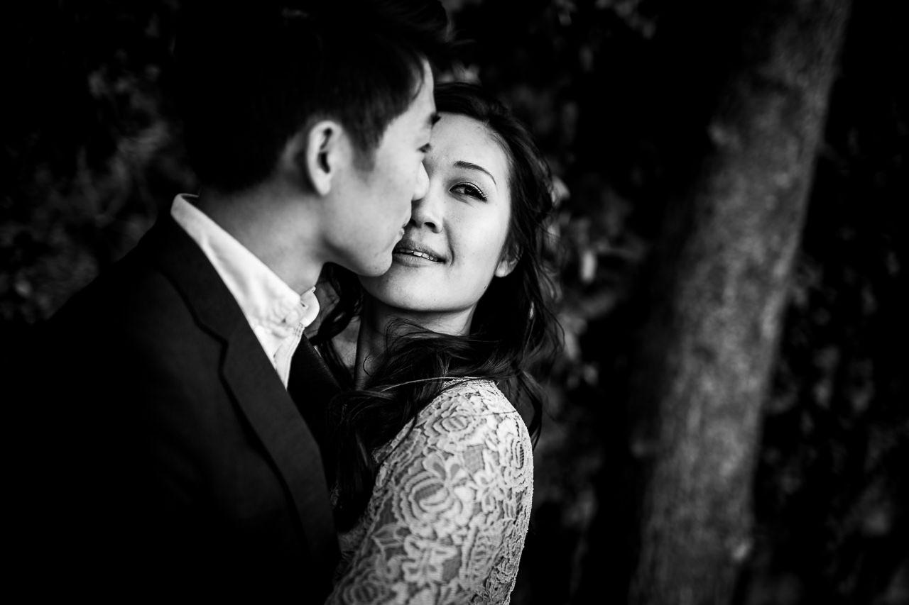 Photos d'un couple anglais avant leur mariage à Carcassonne