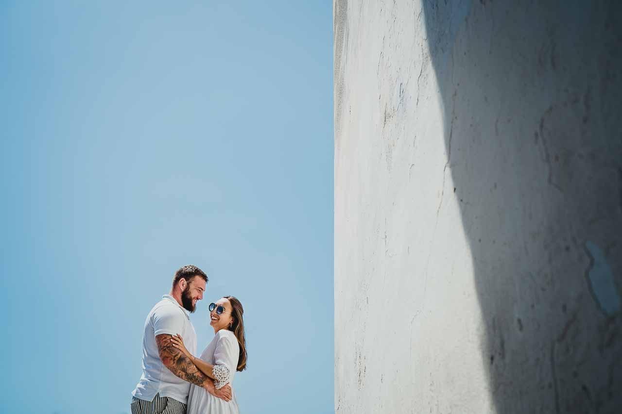 Photo de couple à Cadaquès en Espagne