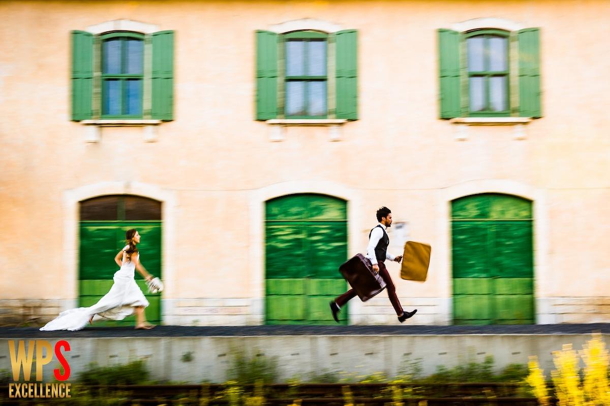 Photo de mariage récompensée par le concours international WPS