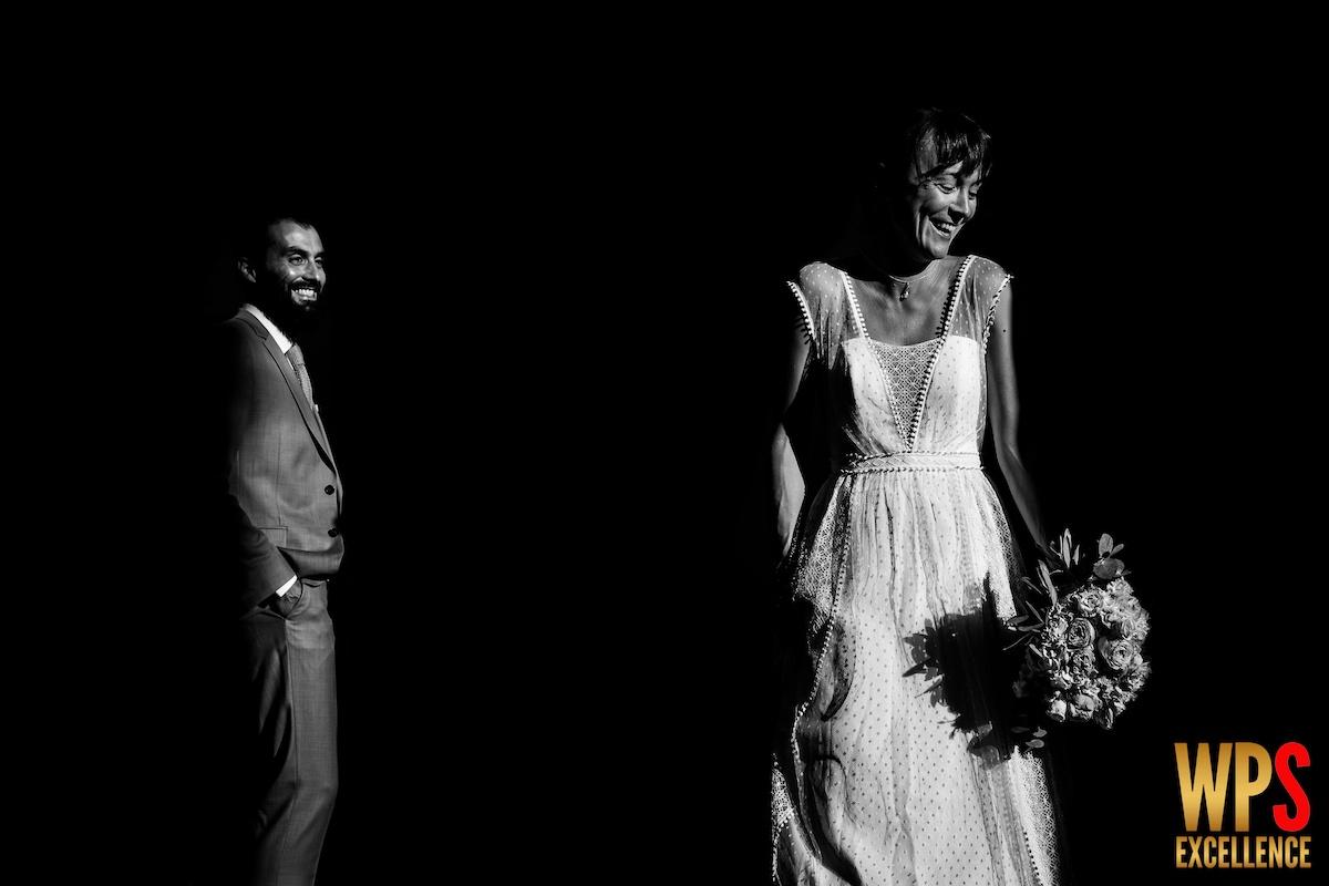 Photo de mariage ayant reçu des récompenses au concours WPS