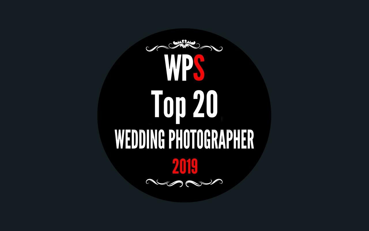 Dans le top 20 du concours de photo de mariage WPS