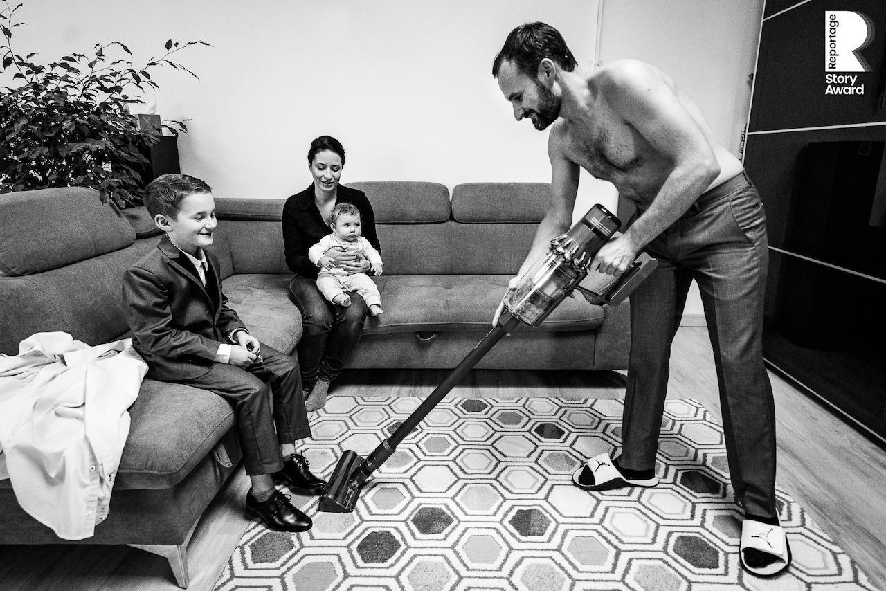 reportage documentaire d'un mariage )à Paris par le photographe Olivier Bolte