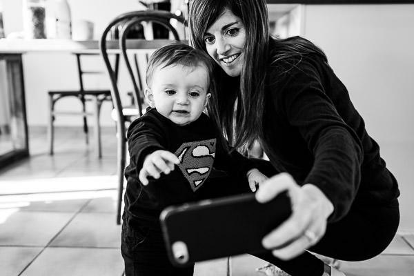 Caroline et le fils d'Olivier Bolte photographe à Perpignan