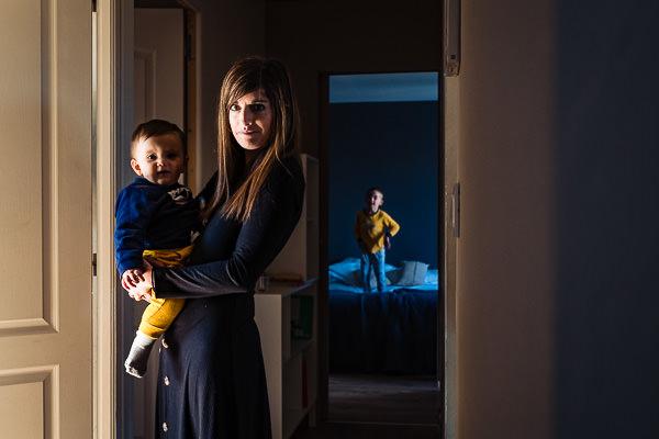 la famille d'Olivier Bolte photographe près de Perpignan
