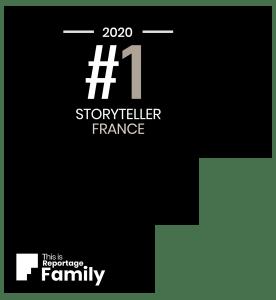 Titre de meilleur storyteller français pour un concours international de reportage photo famille
