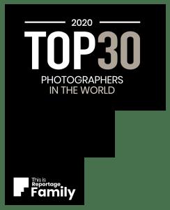 Titre de top 30 mondial pour un concours international de reportage photo famille
