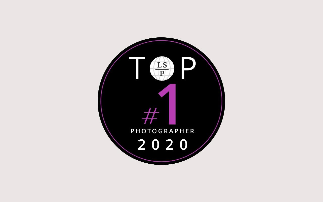 Badge du meilleur photographe famille et grossesse 2020
